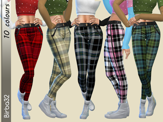 Birba32 S Tartan Pants Sims 4 Updates Sims 4 Finds