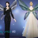 S-Club LL ts4 Fairy wings 02