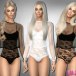 sims2fanbg's 271 – Bodysuit with transparent top