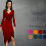 Sentate's Bella Wrap Dress