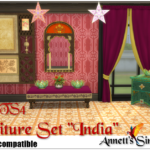 "TS3 to TS4 Conversion – Furniture Set ""India"""