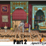 "TS3 to TS4 Deco & Furniture Set ""India"" – Part 2"