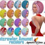 Nightcrawler Amunet – Recolors