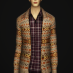 S4 _Baisc Wool Cardigan with Shirt for M (10 color)