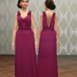 TS4: Beatrice Evening Gown (Tumblr +3000 Follower's Gift) – History Lover's Sims Blog