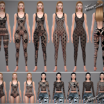 Jennisims: Downloads sims 4: Accessories Lace Collection