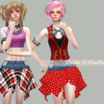 SecretPink-Asymmetrical Skirts | Studio K Creation