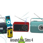 Around the Sims 4 | Custom Content Download | Electronics Audio