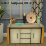 S3 to S4 – Simply Styling Deco Set 1 – ChiLLis Sims