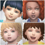 Xmiramira's CC Finds : Kijiko Lashes For Toddlers
