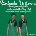 The Sims 4: Simlish Starbucks Set – Part 2