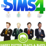 The Sims 4: Harry Potter Mod Pack (Part 2 of 3 Harry Potter CC packs)