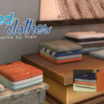 Un Sims au bout du fil. – Folded Clothes for The Sims 4 Hey, happy new year…