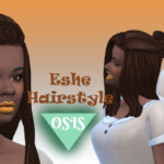 Oh snap, it's Stef ESHE HAIRSTYLE / MAXIS MATCH (18 EA COLORS)