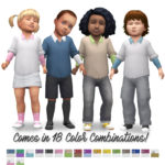 History Lover's Simblr , TS4: Toddler Sweater Shirt I wanted toddlers to…