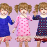 Secret Pink – Luludress type C toddler version (S4CC)