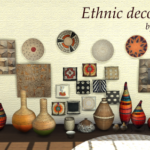 Xelenn — Ethnic deco 17 items – 15 new meshes by me…