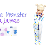 my sims 4 stuff — CHILDREN'S PLACE MONSTER PAJAMAS I really liked…