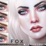 Pralinesims' Fox Eyebrows N105