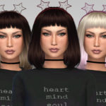 GrafitySims – Star Lace Headband