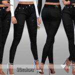 Pinkzombiecupcakes' PZC_Chic Black Jeans