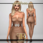 FashionRoyaltySims' Jealousy Jumpsuit