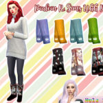 HulaSims16's UGG recolors – mesh needed