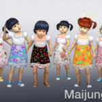 maijungja's Cute Short Dress Toddler