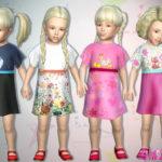 sims2fanbg's 290 – Toddler Dress