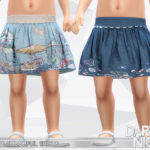 DarkNighTt's Printed Colorful Skirts