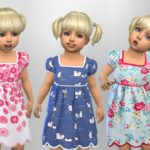 SweetDreamsZzzzz's Patterned Toddler Dresses..