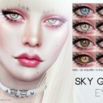 Pralinesims' Sky Gem Eyes N123