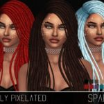SimplyPixelated's MESH NEEDED – Nightcrawler-Sparks Retexture