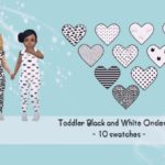 Schlumpfina90's Black and White Onsies – mesh needed