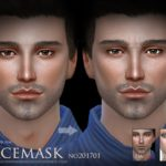 S-Club WM ts4 Facemask 201701