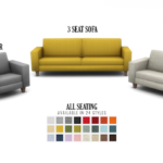 Simsational Designs: Feel That Fabric Sofa Set Redux