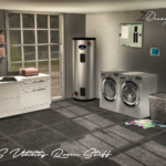 NS Utility Room Stuff (New Meshes) | Sims 4 Designs