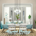 Simsational Designs: UPDATED: Atwood Dining – Content Collection Addon