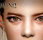 Deep Spase — Female Eyebrow by Genius | Sims 4 Updates -♦