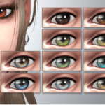 Eye colors – Default Replacement + Non-default + Vampires! – Kijiko