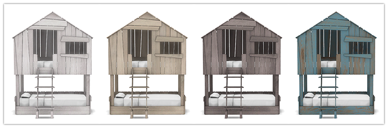 Toddler Club House Bunk Bed V2
