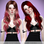 Jennisims: Downloads sims 4:Newseas SandGlass Hair retexture