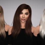 AvelineSims — Anto Sunrise retexture – naturals 72 swatches in…