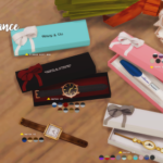 In a bad Romance. Gift box: for pregnancy test & watches.
