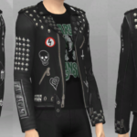 Flamboyant Alien — Marilyn Manson punk jacket for your t/ya/a/e Male…