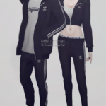 KK Couple Jogger Set