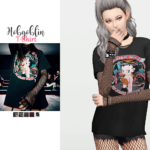 WAEKEY • Hobgoblin T-Shirt • New mesh / EA mesh edit •…