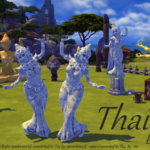 Xelenn — Thai  16 new objects for The Sims 4 Originally 3D…