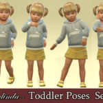 StefaniaOnlinda's Toddler Poses – Set 1