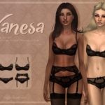 Trillyke – Black Lingerie Collection (Vanesa and Sally)